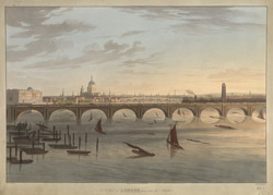 A View of London from near the Adelphi